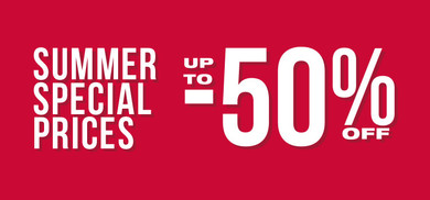 Summer Special Prices up to 50% SRB